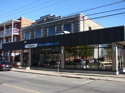 Magasin au centre-ville de Drummondville