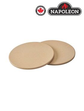 Image de Ensemble de pierres à pizza